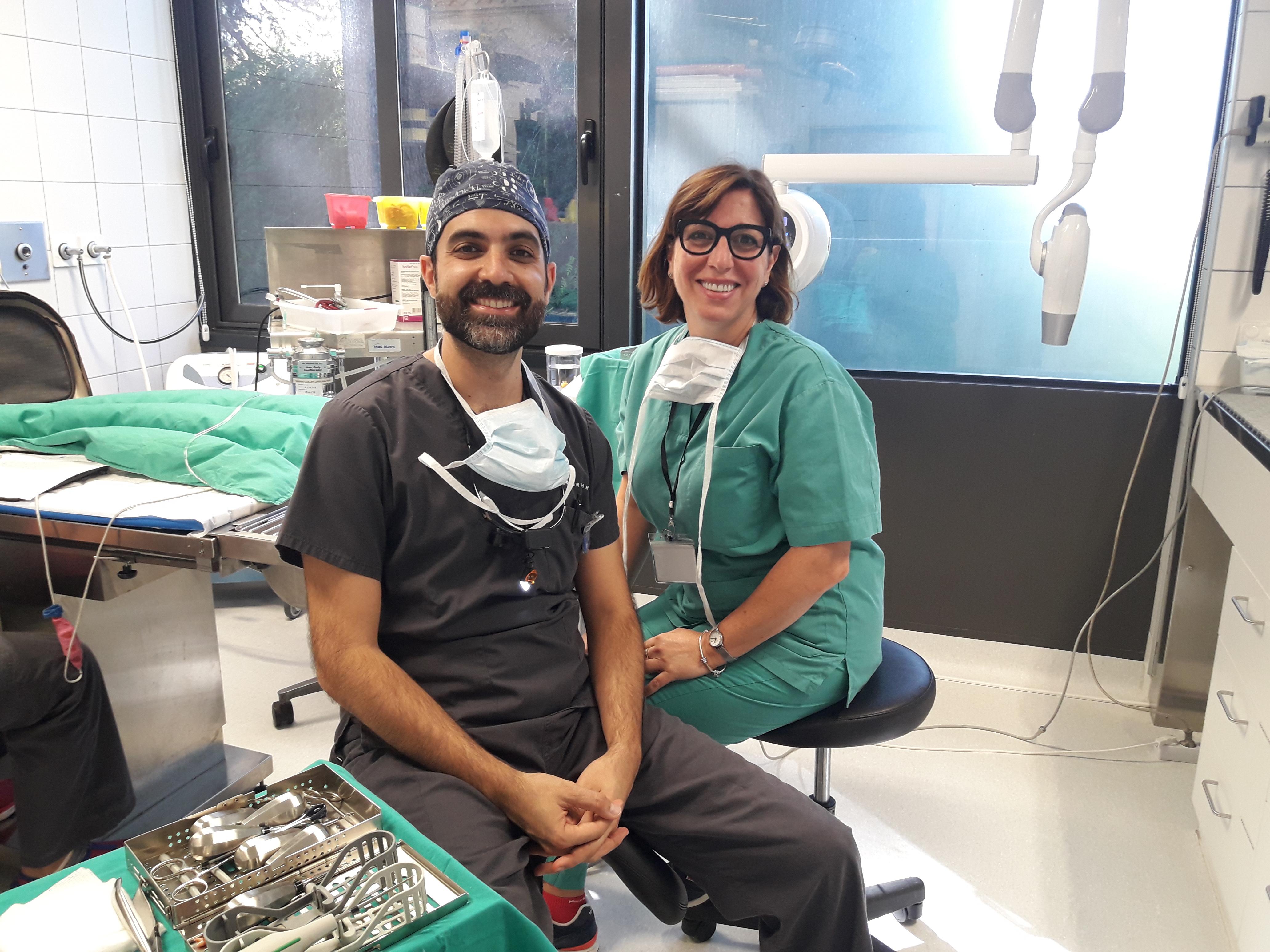 Dra. Sonia Fernández realiza una estancia en ARS Veterinaria